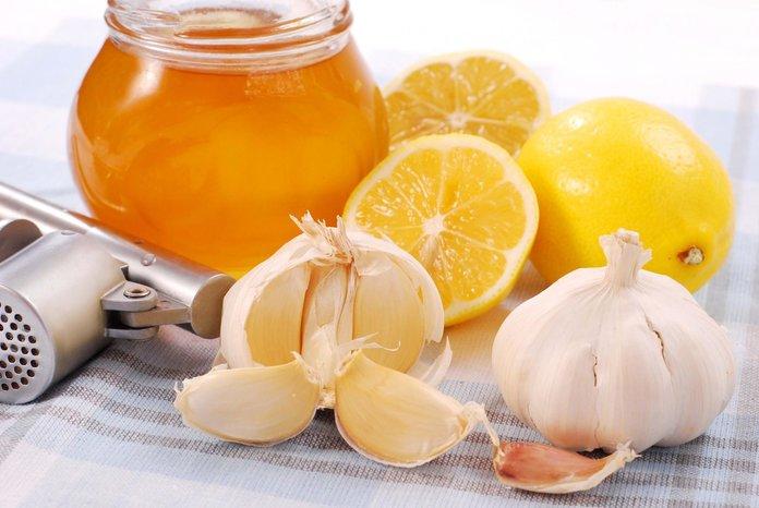 Настой из меда, чеснока и яблочного уксуса