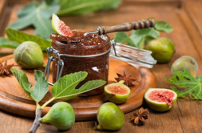 Варенье из фиговых ягод при простуде