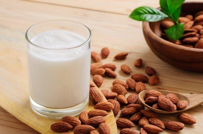 Свойства миндального молока