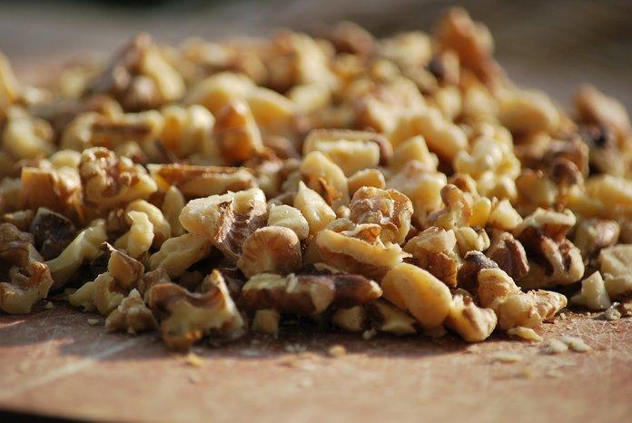 Измельченный грецкий орех