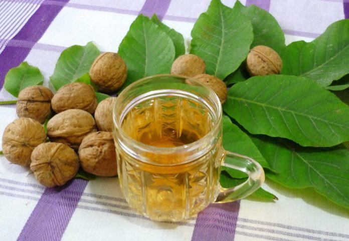 Разбавленное масло грецкого ореха