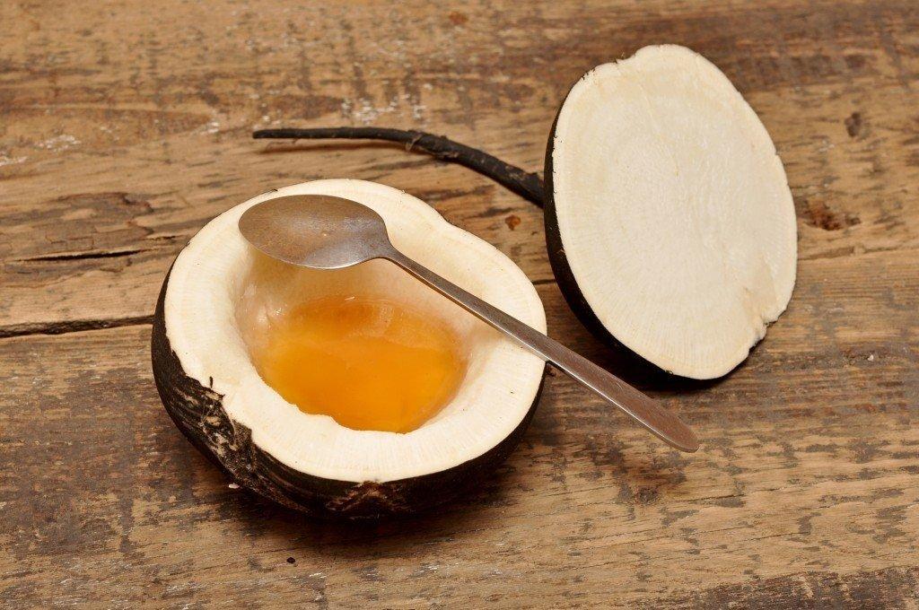 Редька с медом хорошо помогает при сухом кашле