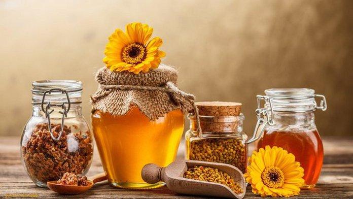 Народные средства от давления на основе меда