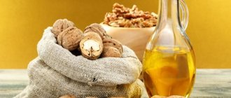 Целебные свойства масла грецкого ореха