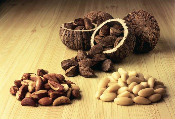 Природный состав и калорийность бразильского ореха