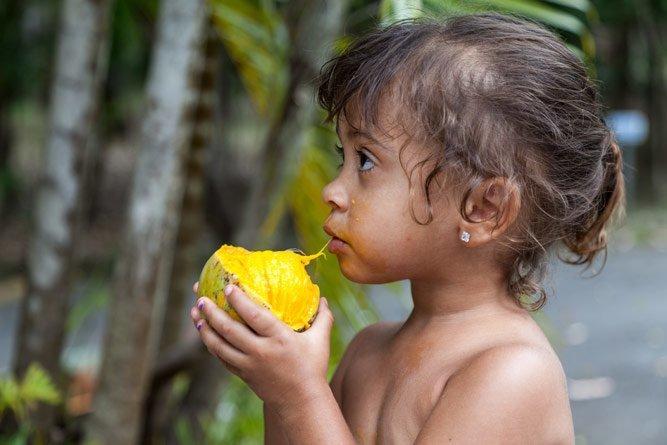 Манго для беременных и детей