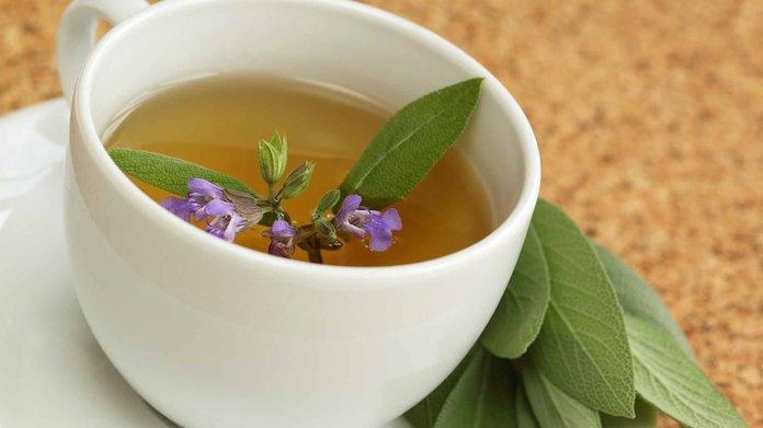 Чай и ингаляции с шалфеем