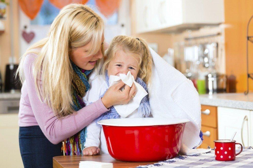 Ингаляции - одно из наиболее эффективных средств от детского кашля