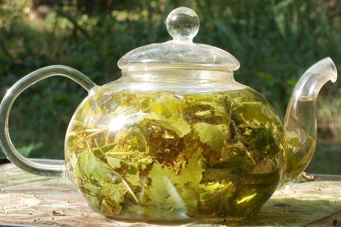 Мультикомпонентный чай с мелиссой