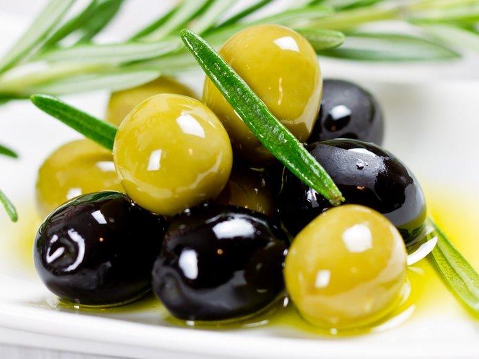Применение маслин