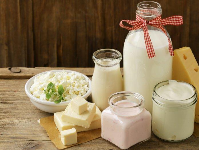Лечение язвы молочными продуктами