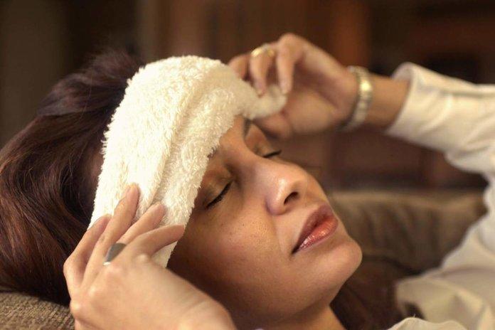 Повязка при мигрени