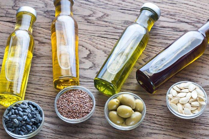 Растительные масла при язве