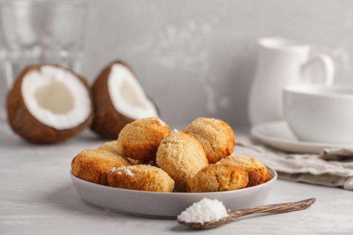 Печенье из кокосового масла