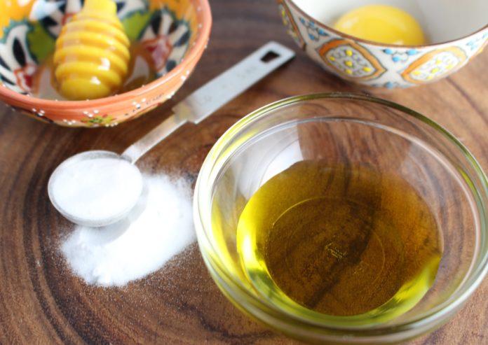 Маска из оливкового масла для лица