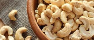 Польза и вред орехов кешью для организма