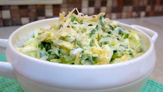 Салат из кинзы