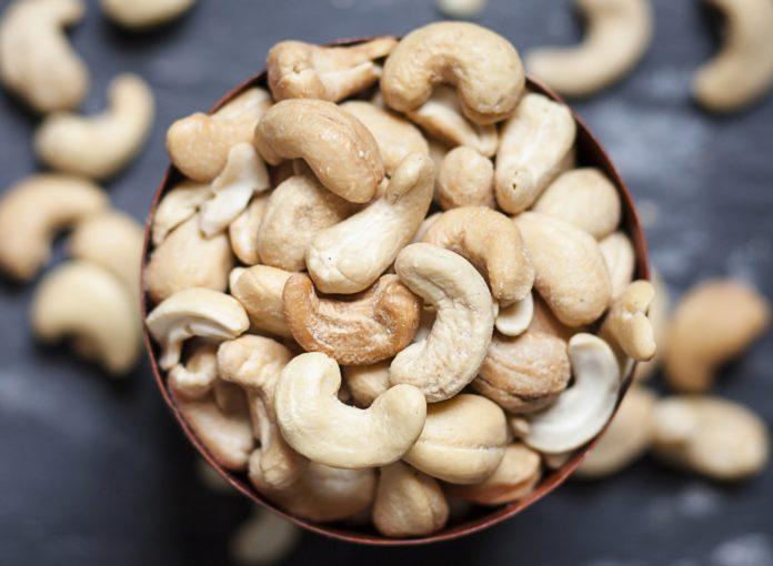 Чищенные орехи кешью