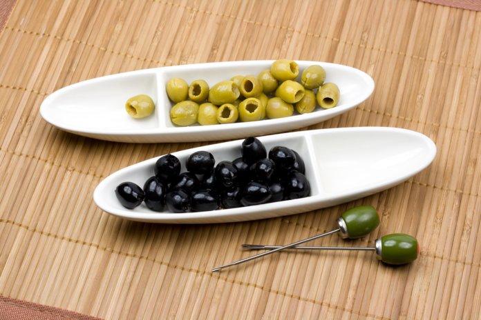 Оливки и маслины: разница