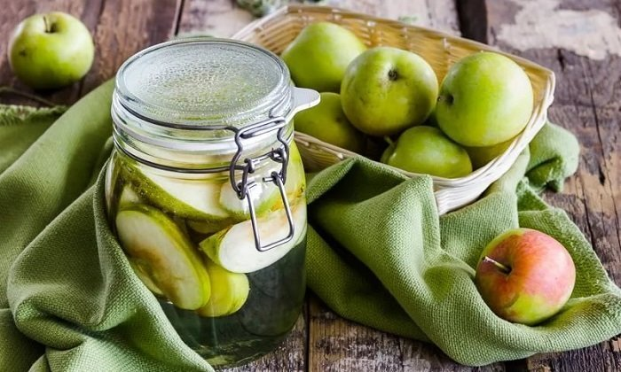 Рецепты народной медицины с яблоками