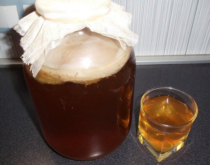Народные рецепты с чайным грибом