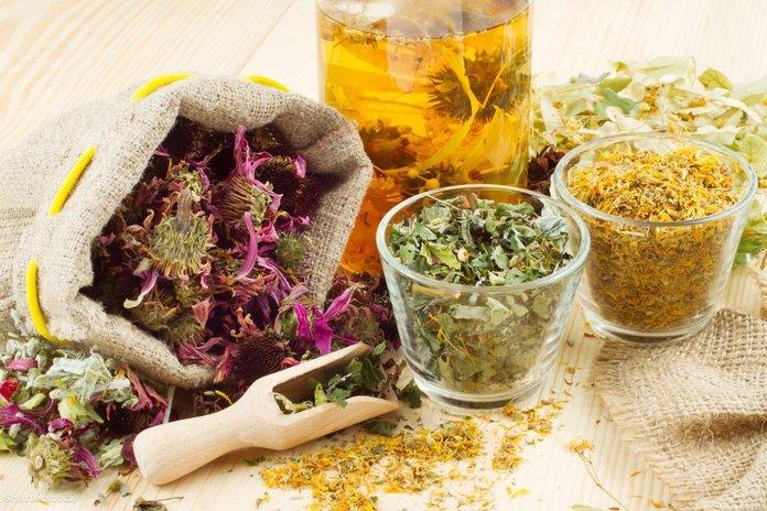 Народные средства для лечения атопического дерматита