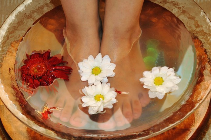 Лечебные ванночки для ногтей