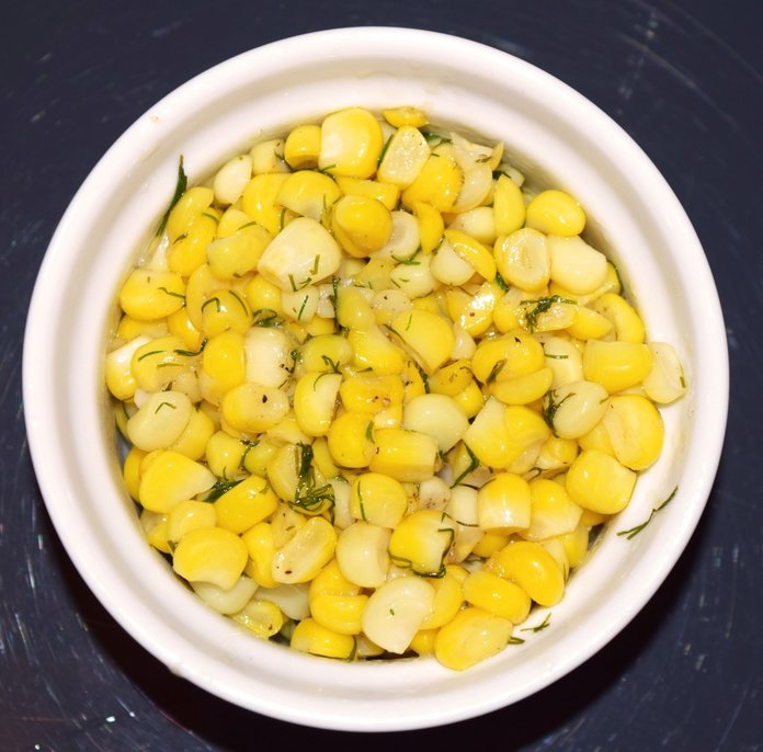 Кукурузные зерна могут употребляться в диете