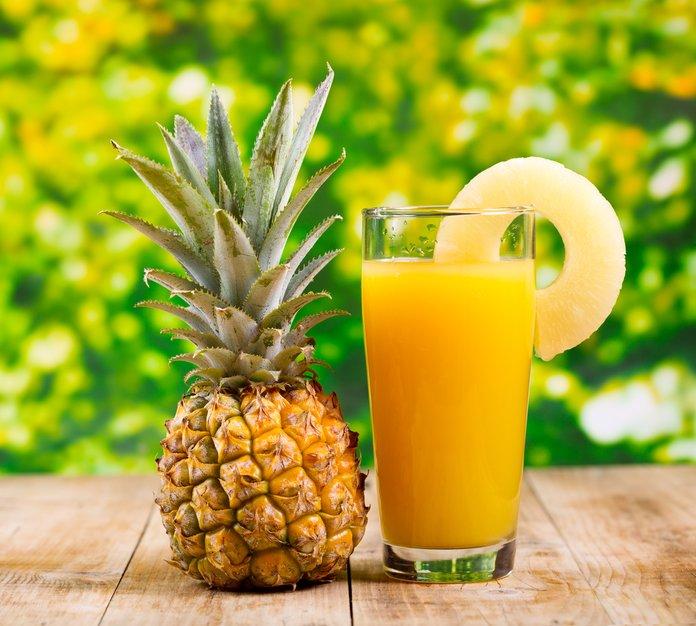 Польза ананасов и сока