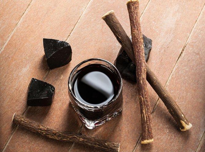 Корень, сироп и конфеты из лакрицы