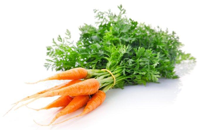 Польза морковной ботвы