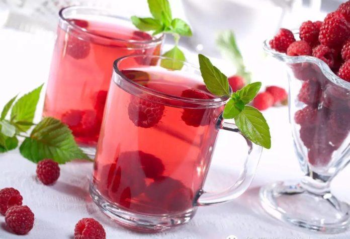 Чай из малины от температуры