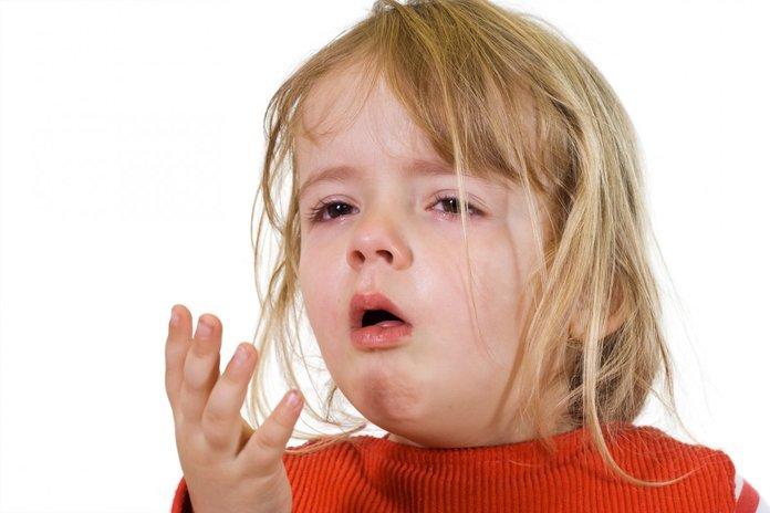 Ребенок, больной пневмонией