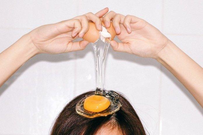 Яйца для волос