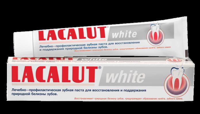 Абразивная зубная паста Lacalut