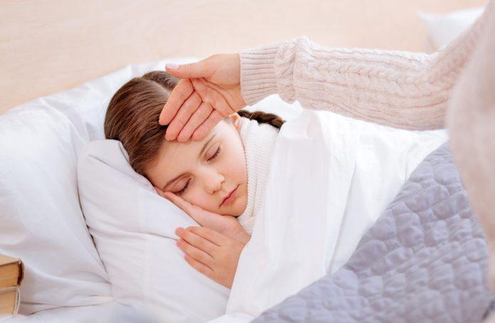 Ребенку со скарлатиной прописывается домашний режим