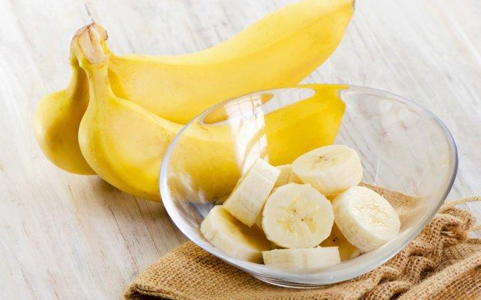 Маска для укрепления волос с бананом