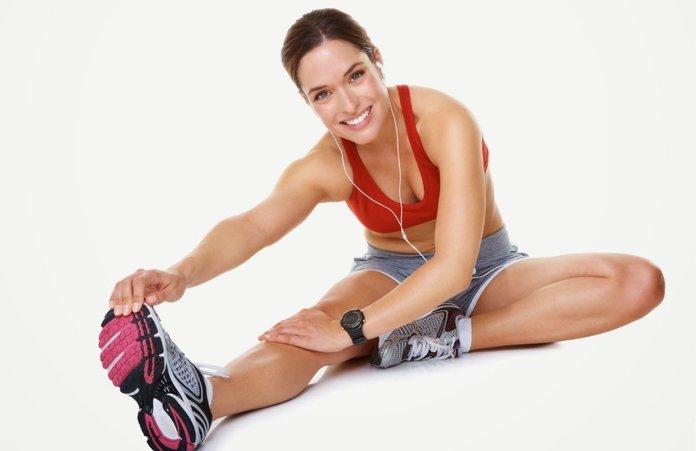 Упражнения для сжигания жира на боках и животе
