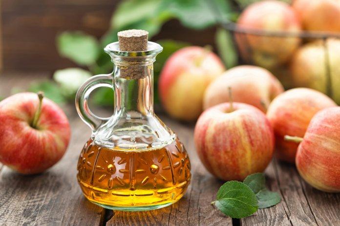 Яблочный уксус в качестве средства от перхоти