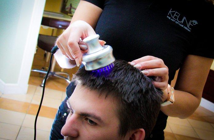 Лазерная расческа для волос