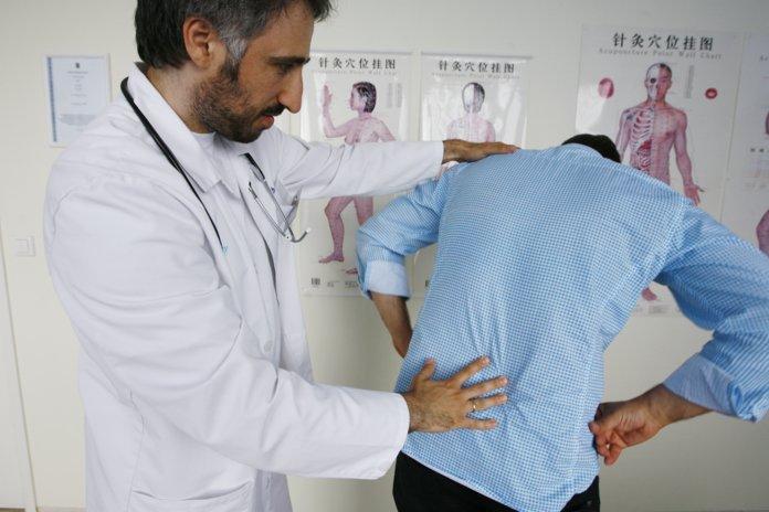 Диагностика защемления седалищного нерва