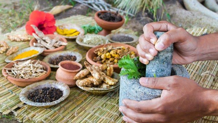 Целебные травы - лекарство против трофической язвы