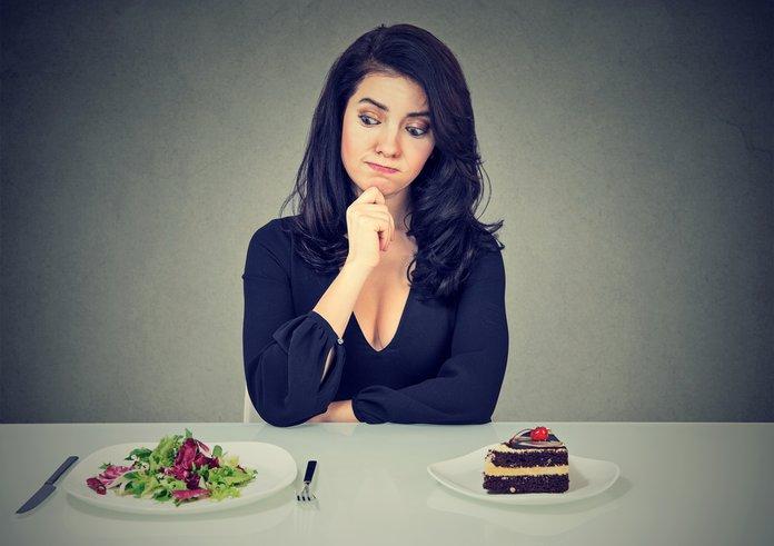 Соблюдение диеты во время сушки