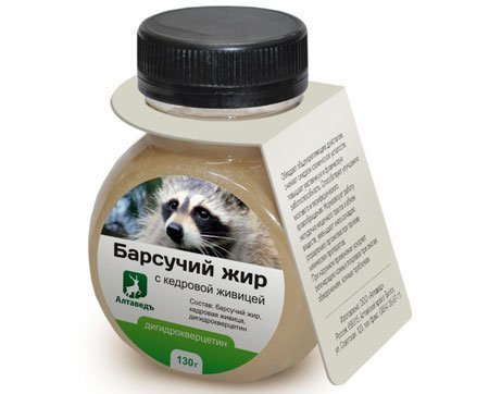 Барсучий жир от псориаза