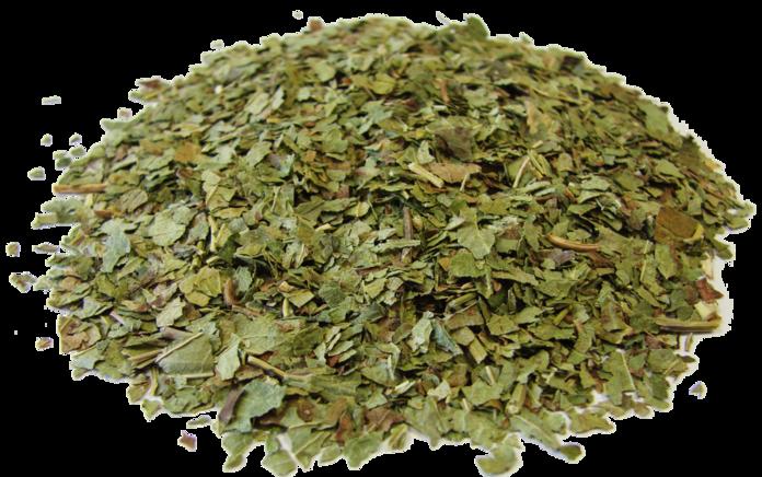 Высушенные листья смородины
