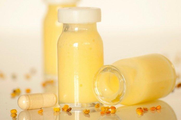 Смесь маточного молочка с медом