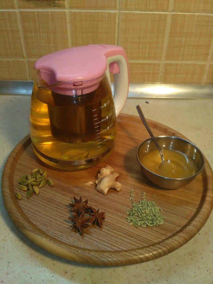 Приготовление укропного чая