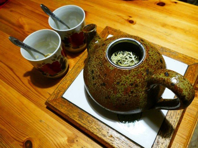 Чай с исландской цетрарией