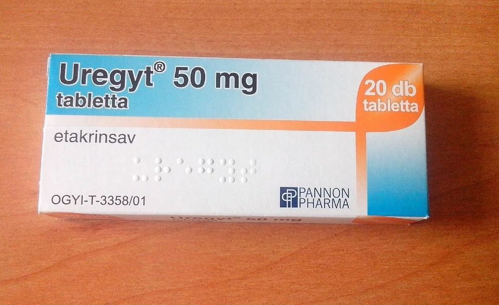 Урегит в таблетках