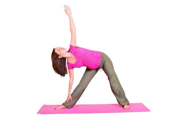 Йога при беременности: поза засова